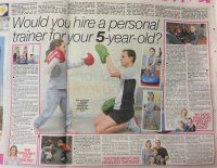Kids Exercise, Kids Boxing, Fitness for Children in
